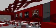 Interiér Restaurace A Tavola